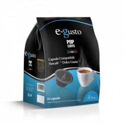 Pop Caffè Capsule E-Gusto Miscela 4 Deca Compatibili Nescafè Dolce Gusto Conf 16 Pz