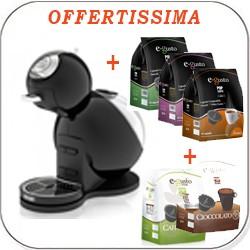 MACCHINA CAFFE MELODY + 80 CAPSULE DOLCE GUSTO COMPATIBILI OMAGGIO