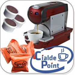MACCHINA CAFFE MY@FAP + 100 CAPSULE CIALDEPOINT COMPATIBILI OMAGGIO